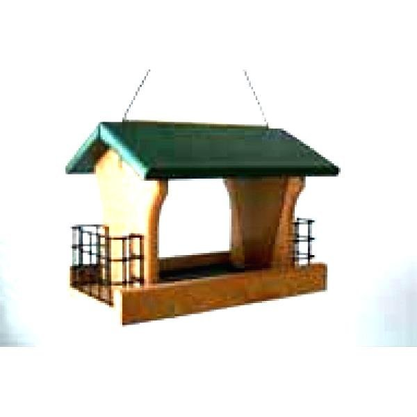 Going Green Recycled Plastic Ranch Seed And Suet Bird Feeder