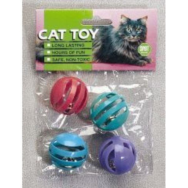 Cat Slotted Balls - 4 pack Best Price