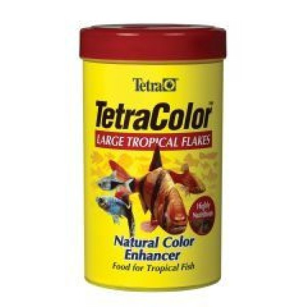 Tetracolor Tropical Flakes / Size 2.82 Oz / Large Flakes