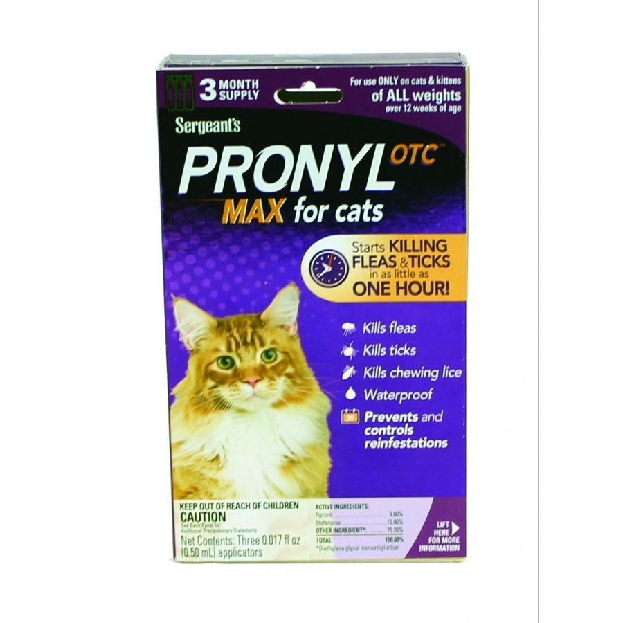 Pronyl Max Cat Flea and Tick - 3 ct. Best Price