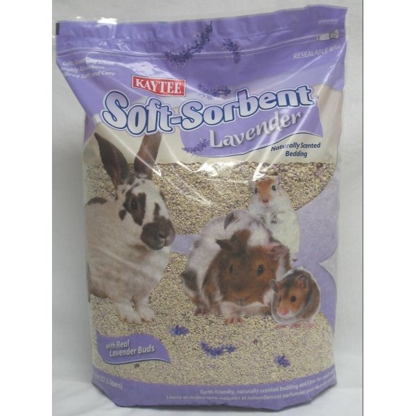 Soft Sorbent Scented Small Pet Bedding / Type Lavender/27.5 Liter