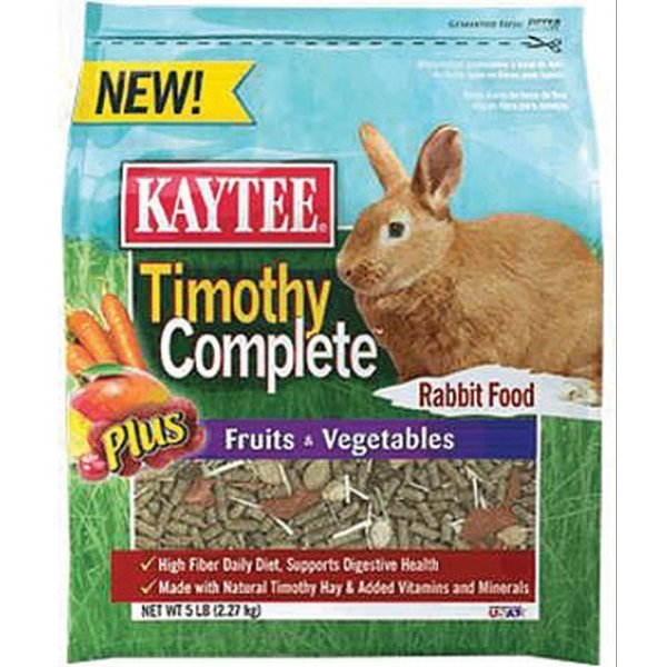 Timothy Complete + Fruits and Vegetables Rabbit Food - 5 lb. Best Price