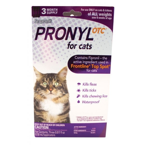 Pronyl Otc For Cats - 3 month supply Best Price