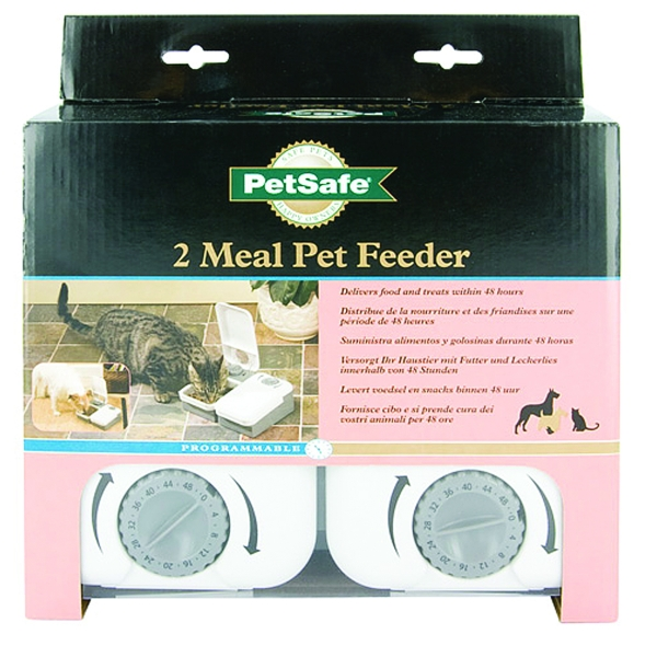 2-Meal Pet Feeder - Small Best Price