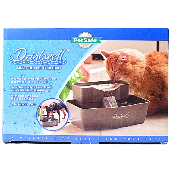 Drinkwell Rectangle Multi-tier Pet Fountain Best Price