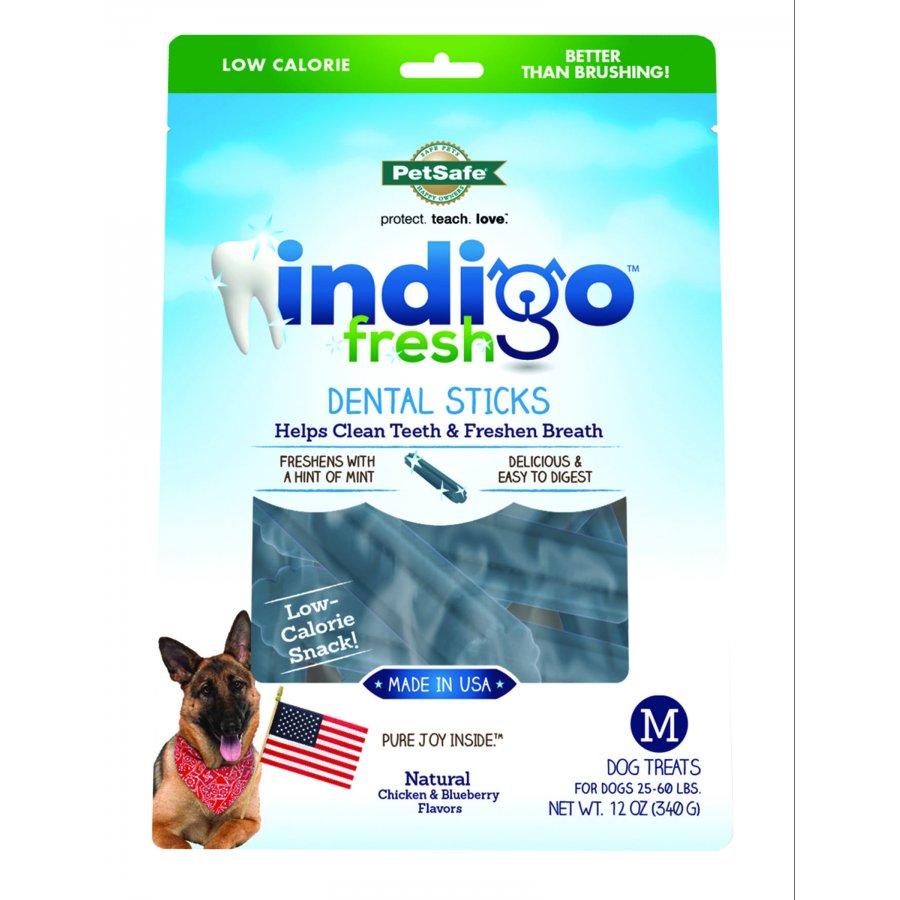 Indigo Fresh Sticks For Dogs / Size Medium