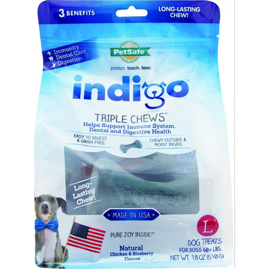 Indigo Triple Chews