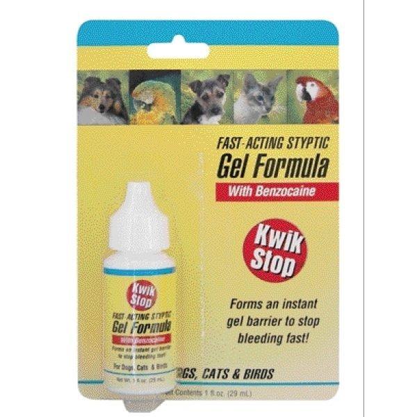 Kwik Stop Pet Styptic Gel 1 Oz.