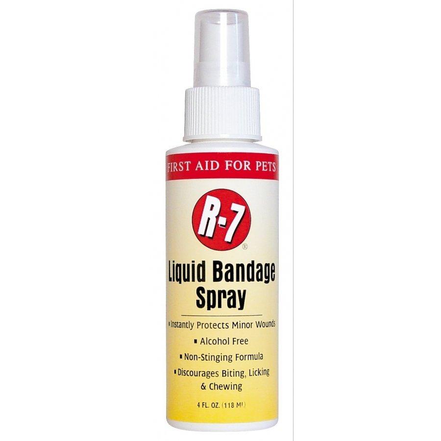 R 7 Liquid Bandage Spray For Pets 4 Oz.