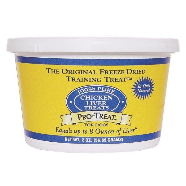 Freeze Dried Chicken Liver Dog Treat / Size 2 Oz.