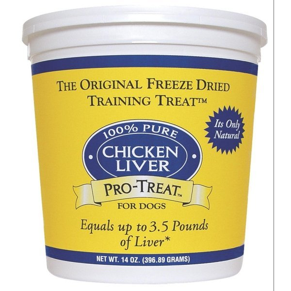 Freeze Dried Chicken Liver Dog Treat / Size 14 Oz.