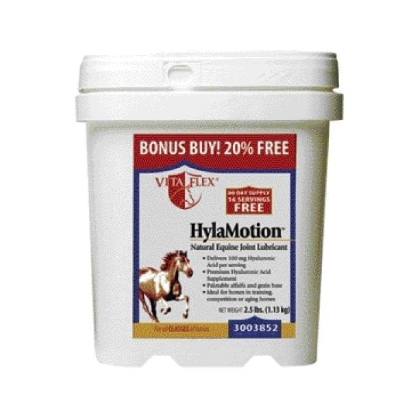 Hylamotion Powder Equine Joint Lubricant / Size (2.5 lbs.) Best Price