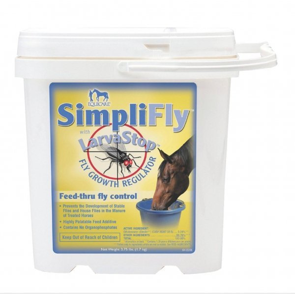 SimpliFly with LarvaStop Feed-Thru Fly Control / Size (3.75 lb.)