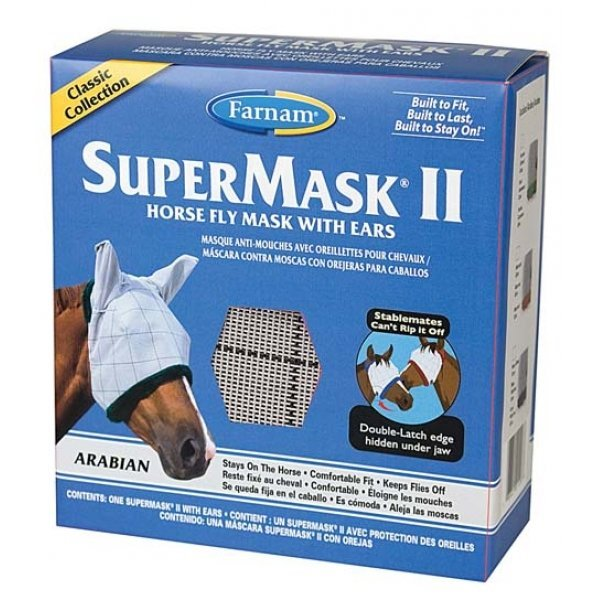 Supermask 2 Fly Mask / Size (Arabian w/Ears Classic) Best Price