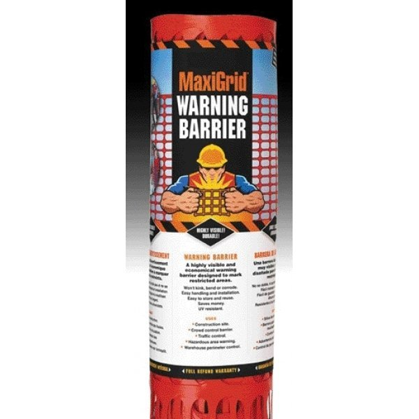 Maxigrid Economical Warning Barrier 4 x 50 ft. Best Price