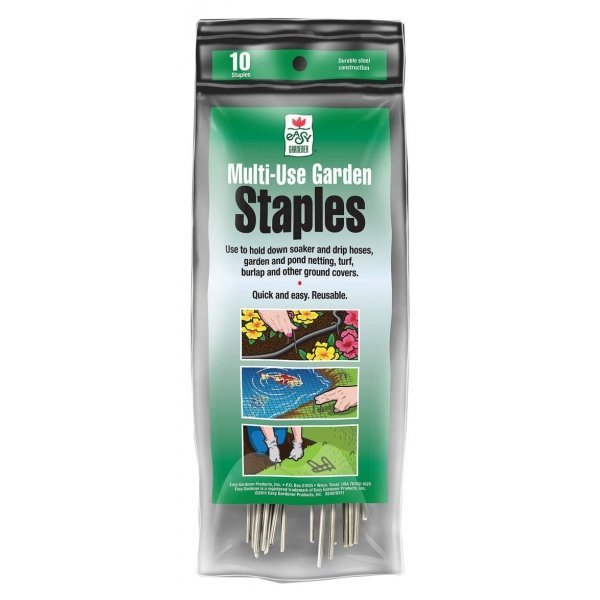 Multi-use Garden Staples - 6 in / 10 pk Best Price