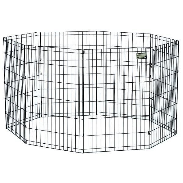 Dog Exercise Pen with Door / Size (36 in.) Best Price