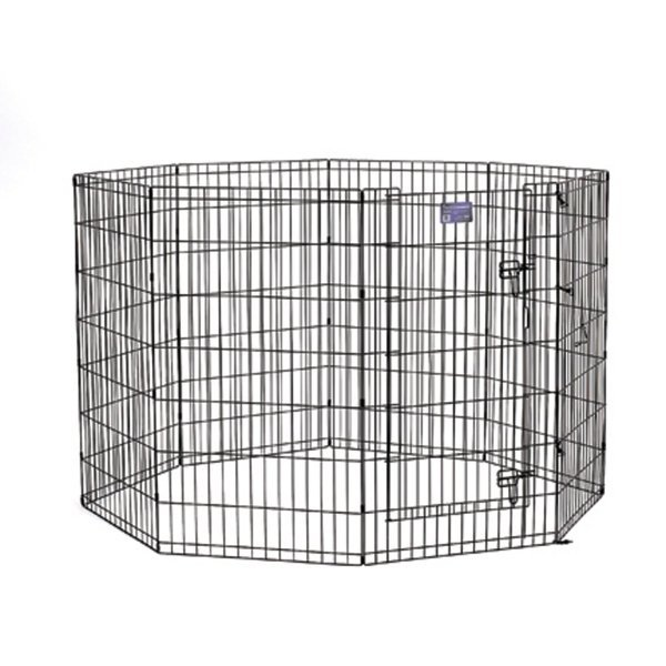 Dog Exercise Pen with Door / Size (42 in.) Best Price