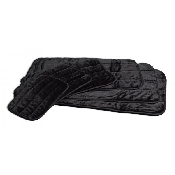 Quiet Time Deluxe Black Pet Mat / Size (43 x 28) Best Price