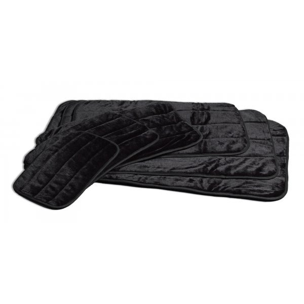 Quiet Time Deluxe Black Pet Mat / Size (49 x 30) Best Price