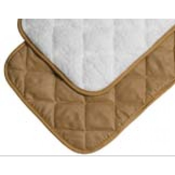 Quilted Reversible Pet Mat / Size 17 X 12 In