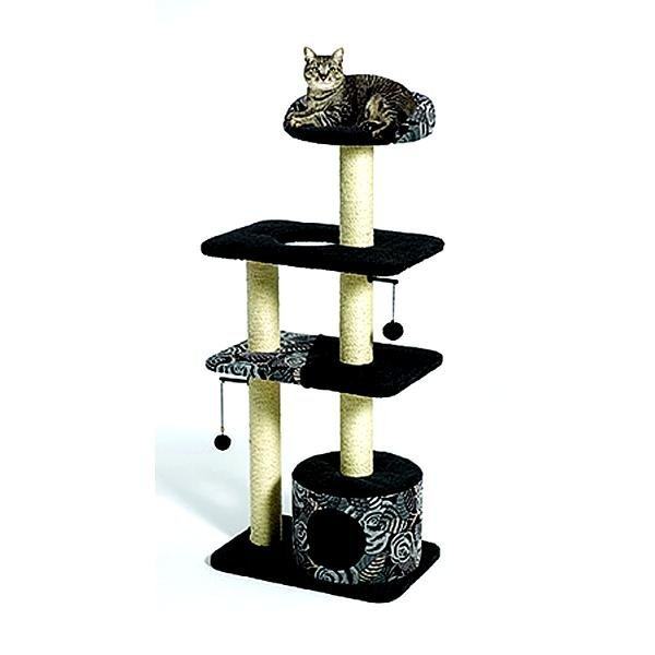 Feline Nuvo Tower Cat Furniture 22x15x51 in. Best Price