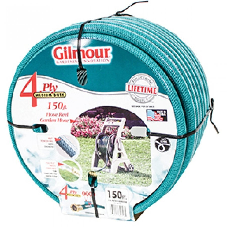 Hose Reel 4-ply Garden Hose 5/8 inch X 150 ft. Best Price