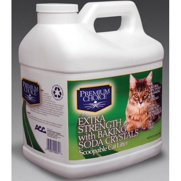 Premium Choice Extra Scoopable Cat Litter / Size 16 Lbs