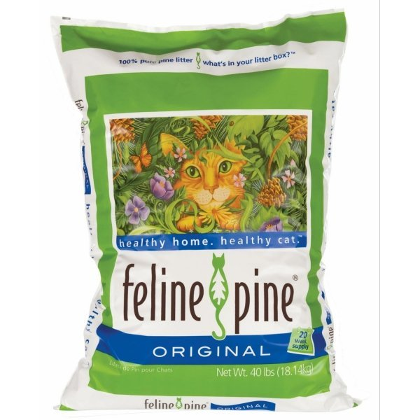 Feline Pine Natural Pine Cat Litter / Size 40 Lbs.