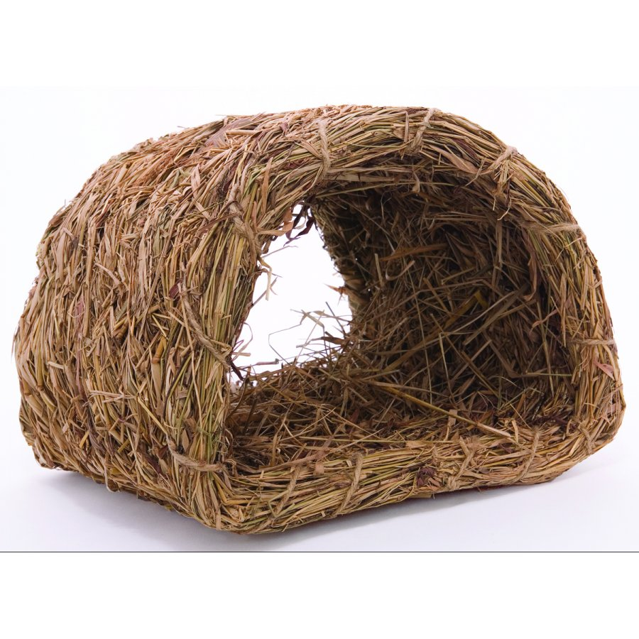 Woven Grass Hide A Way Rabbit Hut