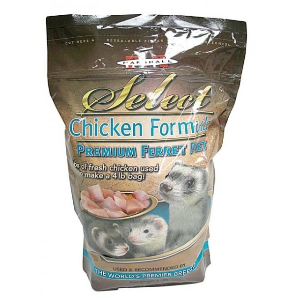 Select Diet Chicken For Ferrets 4 Lbs.