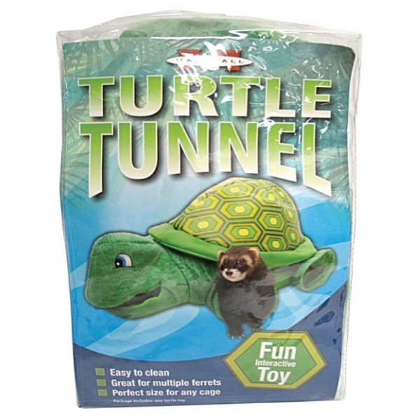 Ferret Turtle Tunnel Toy Green