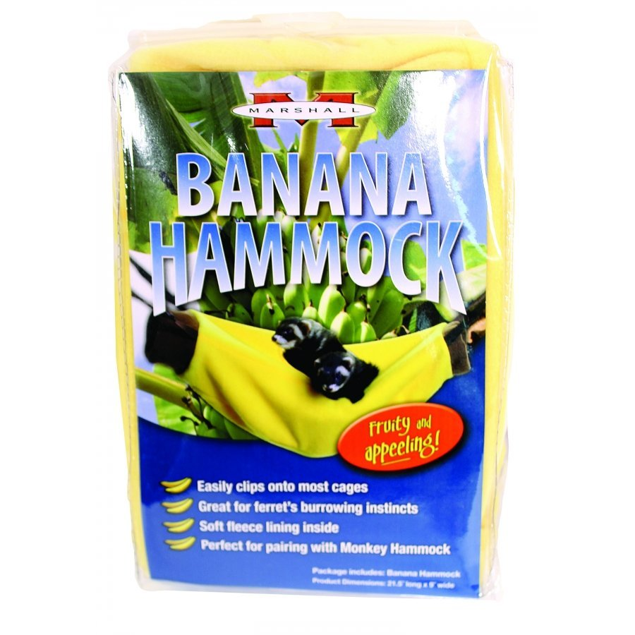Banana Hammock For Ferrets Yellow