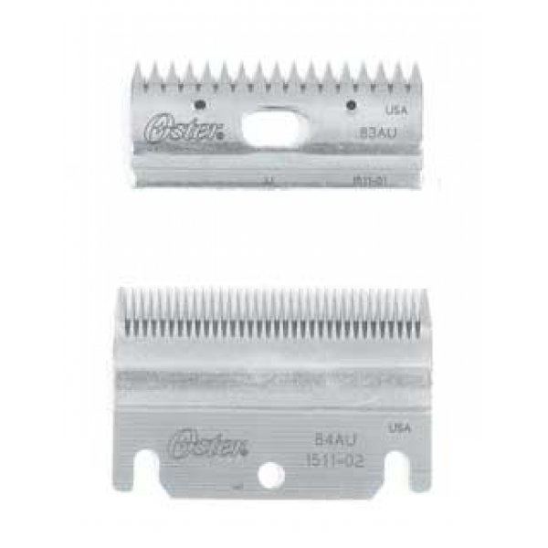 Oster Clipmaster Top And Bottom Blade Set