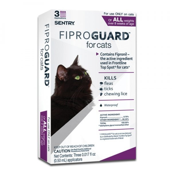 Fiproguard Flea Tock Topical For Cats