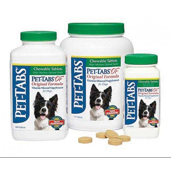 Pet-tabs Dog Chewable Tablets - Original Formula / Size (365 ct.)