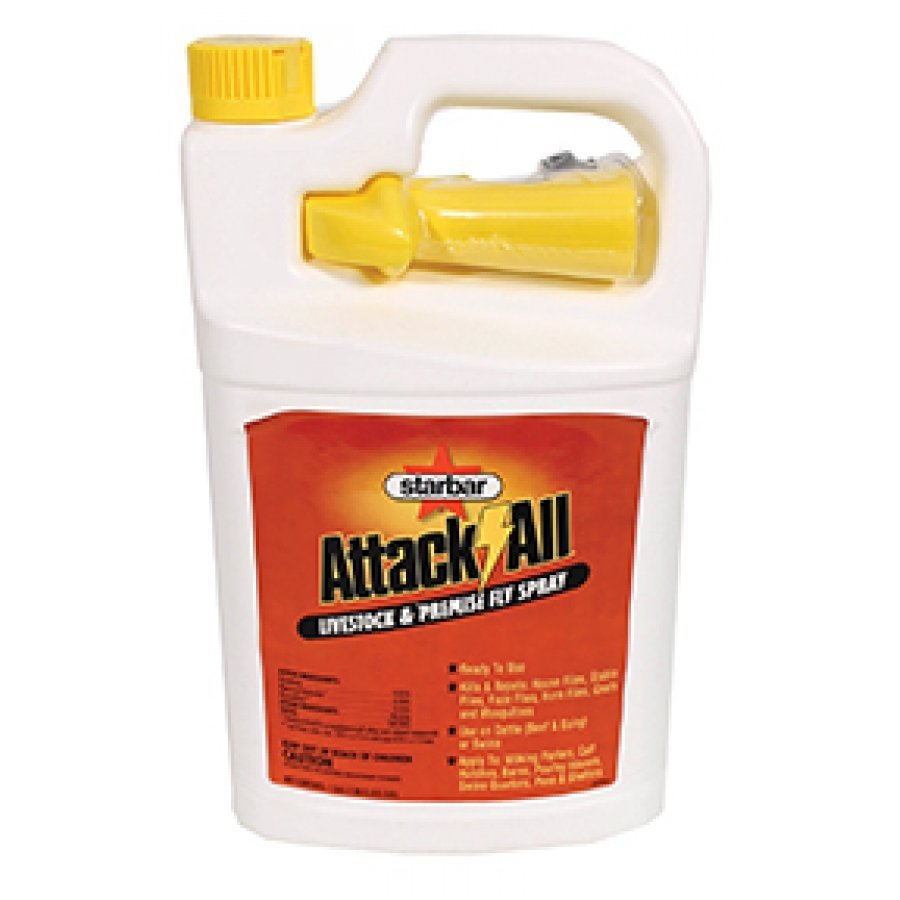 Attack-all Livestock And Premise Fly Spray (Case of 4) Best Price