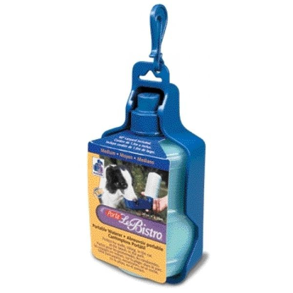 Porta Le Bistro Pet Waterer  / Size (Medium (8 x 3.8 x 2.8)) Best Price