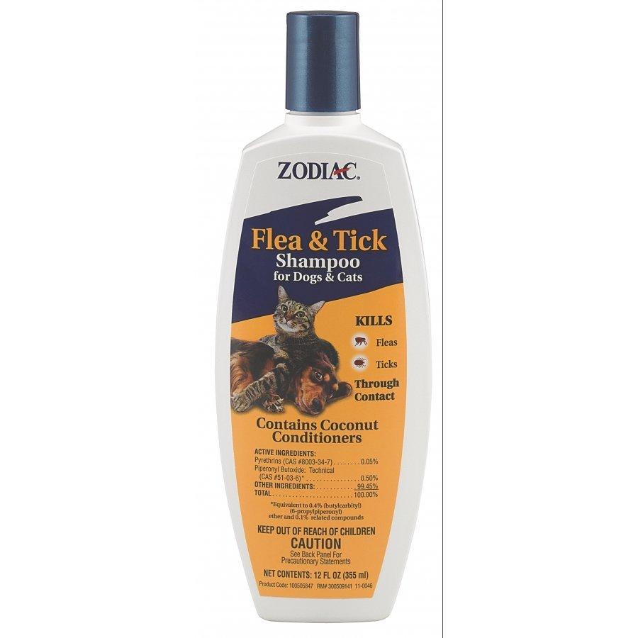Zodiac Flea Tick Shampoo For Dogs Cats