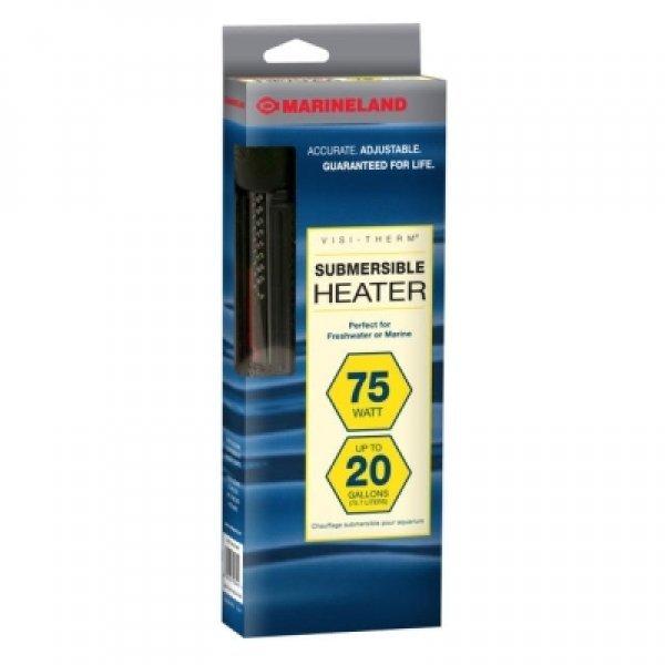 Visi Therm Deluxe Aquarium Heater / Size 75 Watt