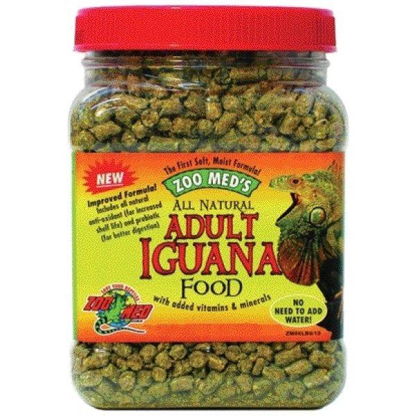Adult Iguana Food All Natural / Size 10 Oz.