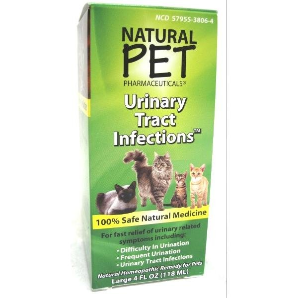 Natural Pet Cat Urinary Tract Infections - Cat Supplement - 4 oz. Best Price