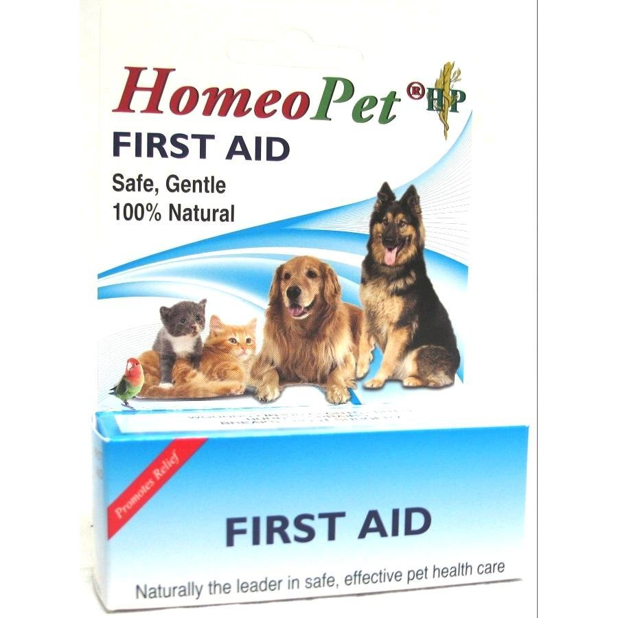 Homeopathic First Aid For Pets 15 Ml
