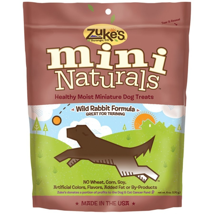 Mini Naturals Wild Rabbit Treats / Size 1 Lbs