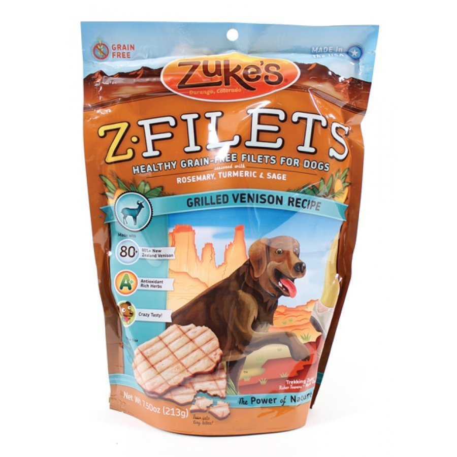 Z-filets Grain-free Filets For Dogs / Flavor (Grilled Venison) Best Price