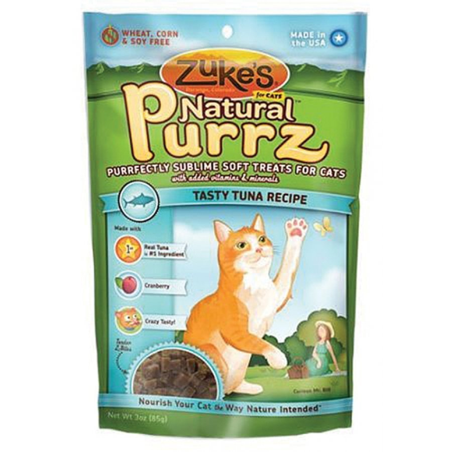 Natural Purrz Soft Treats For Cats 3 Oz.
