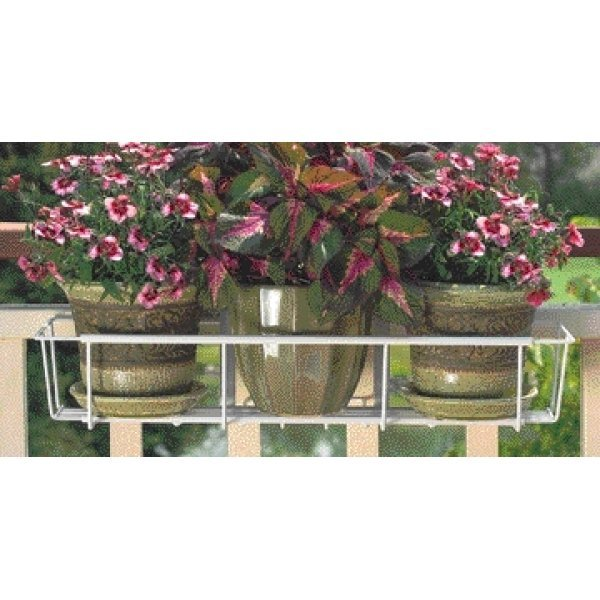 Cobraco Adjustable Flower Box Holder / Color (White) Best Price