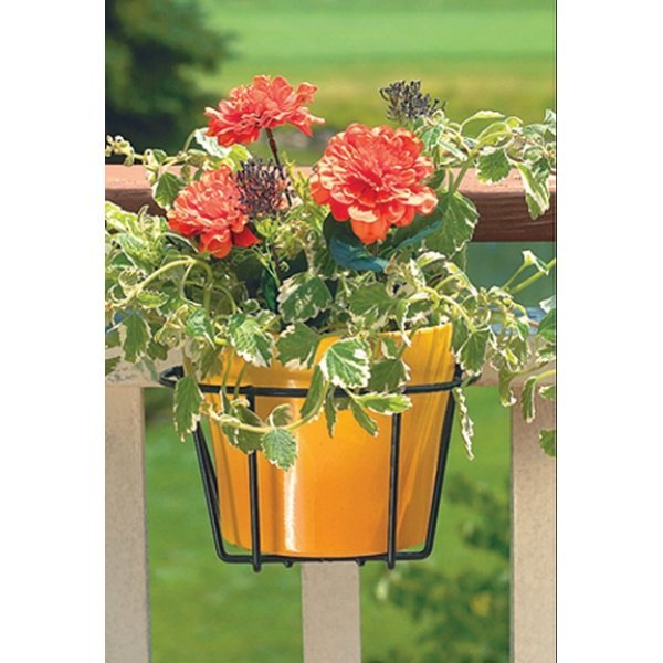 Cobraco 10 in. Flower Pot Holder / Color (Black) Best Price