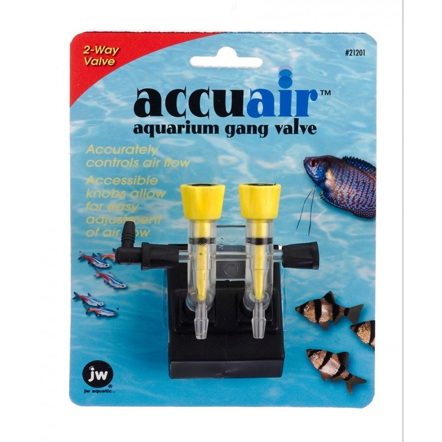 Accuair Gang Valve For Aquariums / Size 2 Way