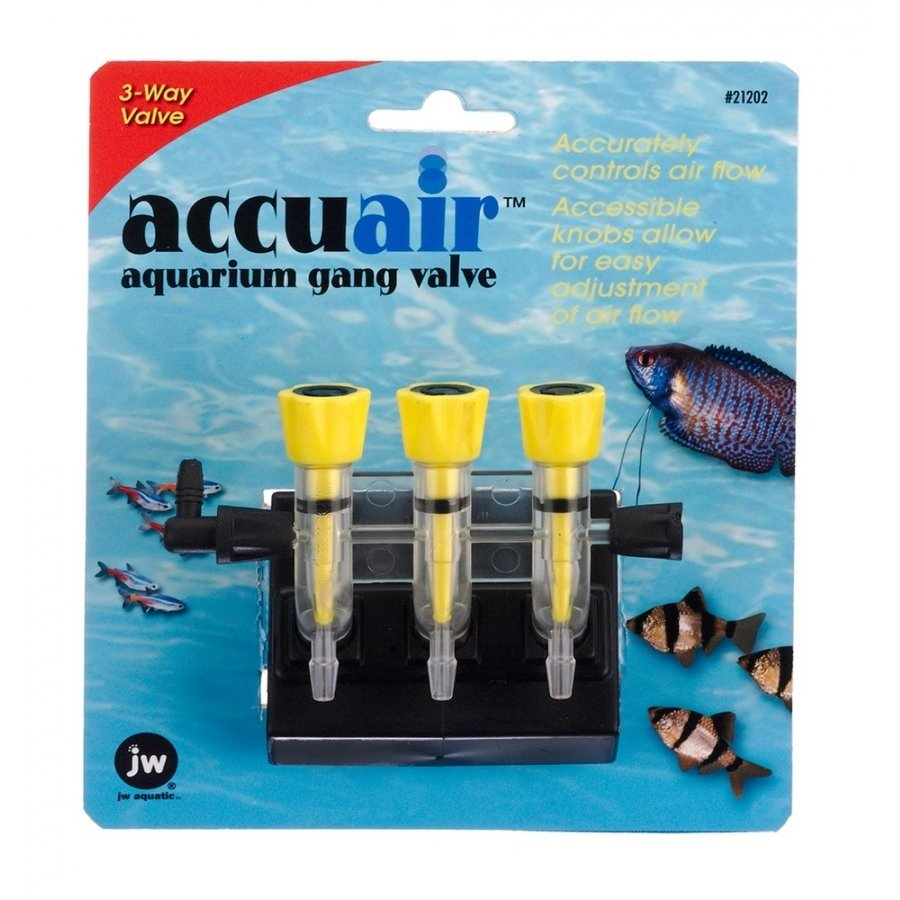 Accuair Gang Valve For Aquariums / Size 3 Way